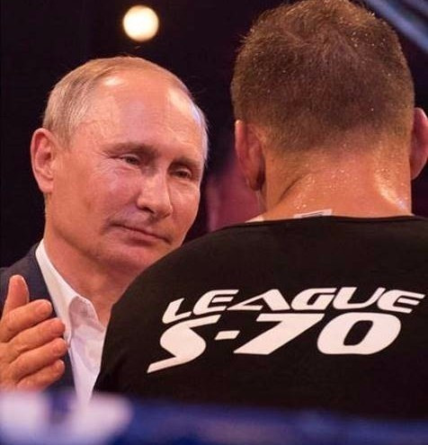 Putin attends international sambo tournament in Sochi