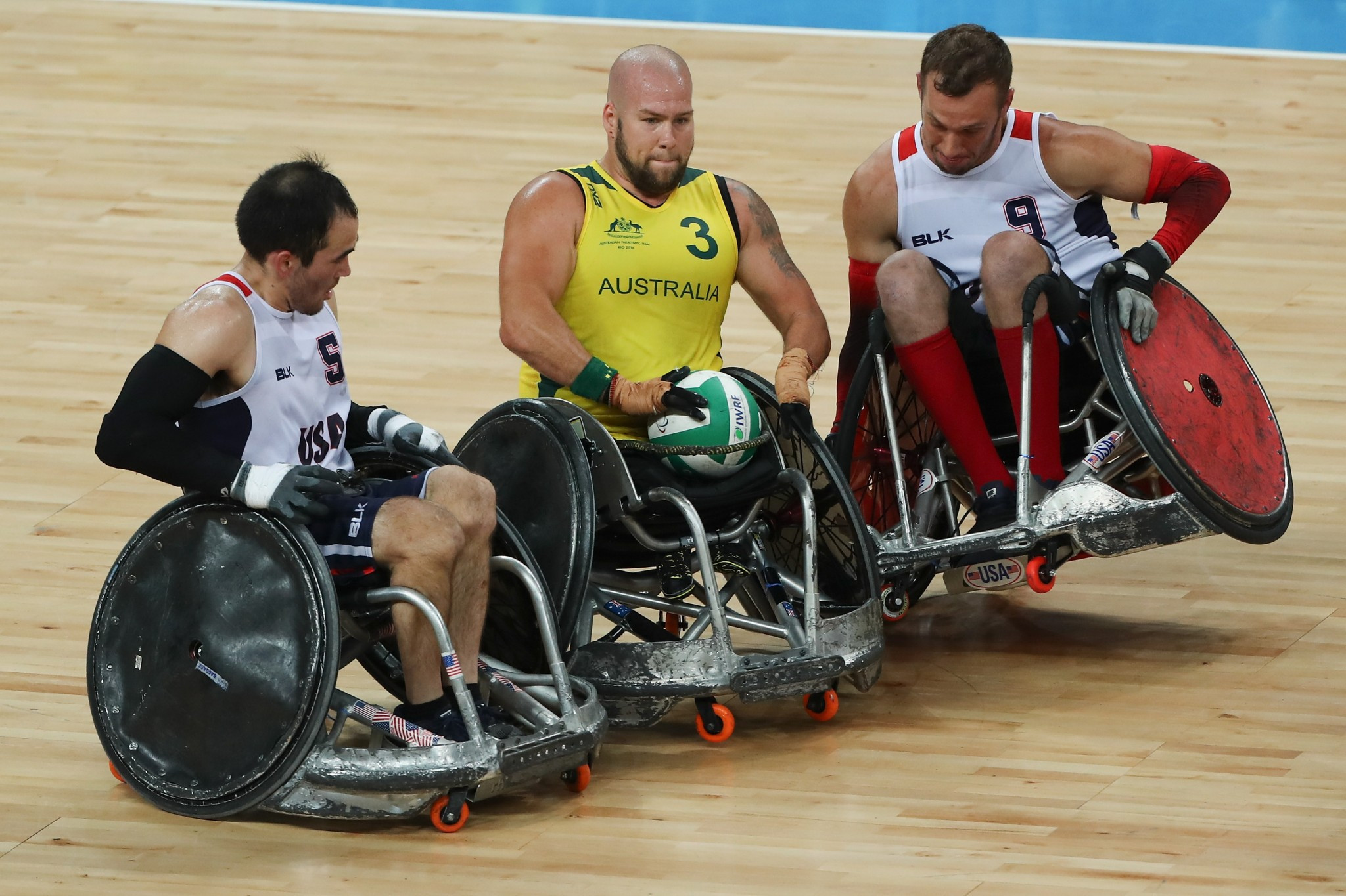 The United States were beaten by Australia in the Rio 2016 Paralympic gold medal match ©Getty Images