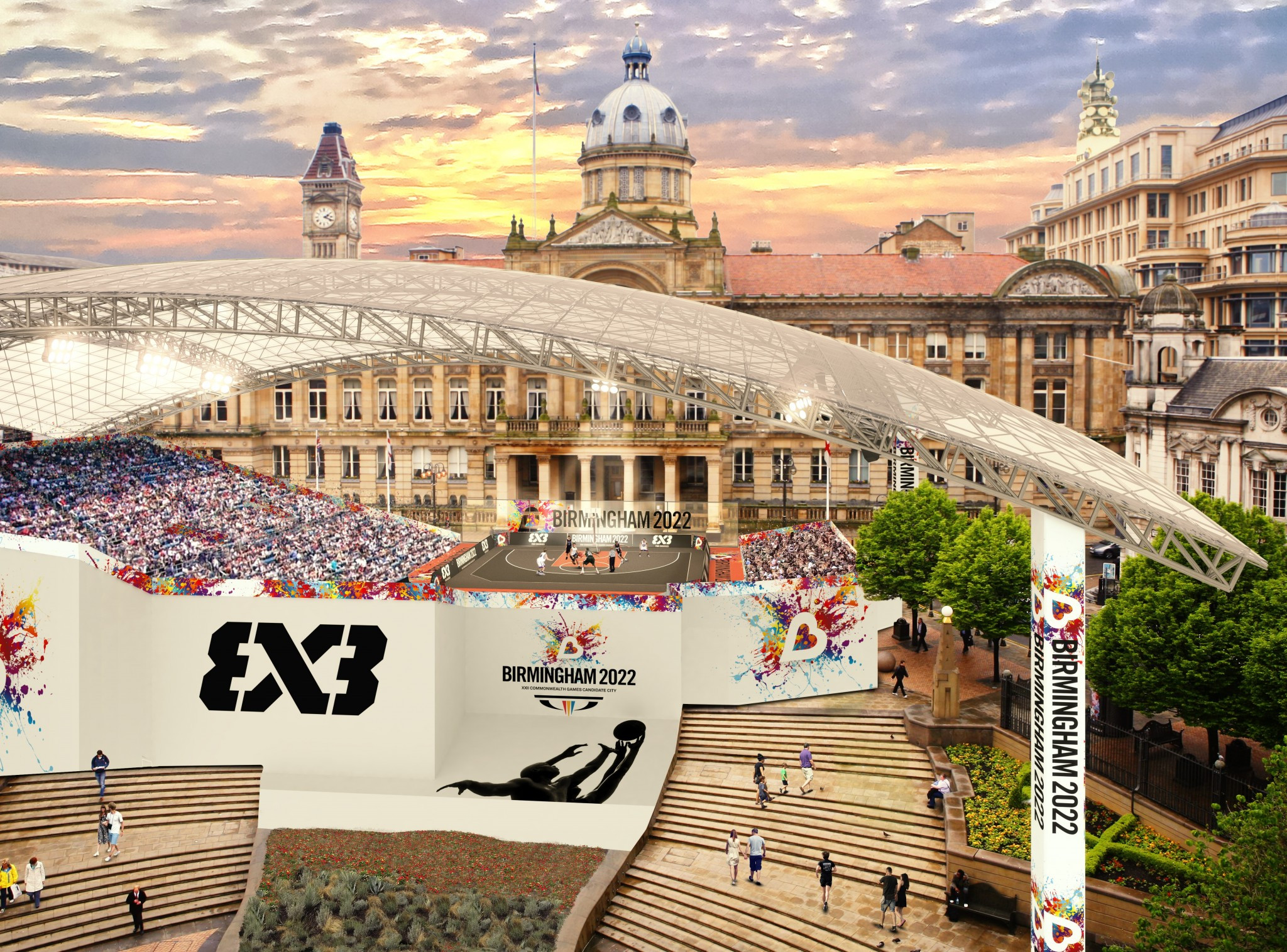 Birmingham include 3x3 basketball and Urban Street Festival as part of 2022 Commonwealth Games plans