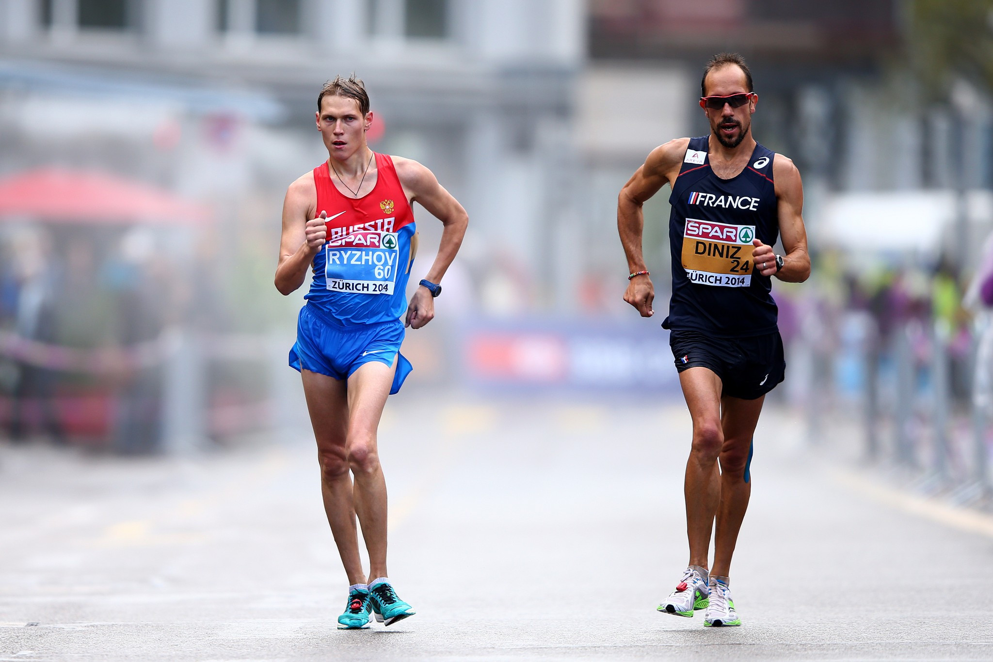 Mikhail Ryzhov, one of six Russian race walkers suspended for four years in June 2015 after testing positive for erythropoietin, is in line to be upgraded to 2011 Universiade gold ©Getty Images