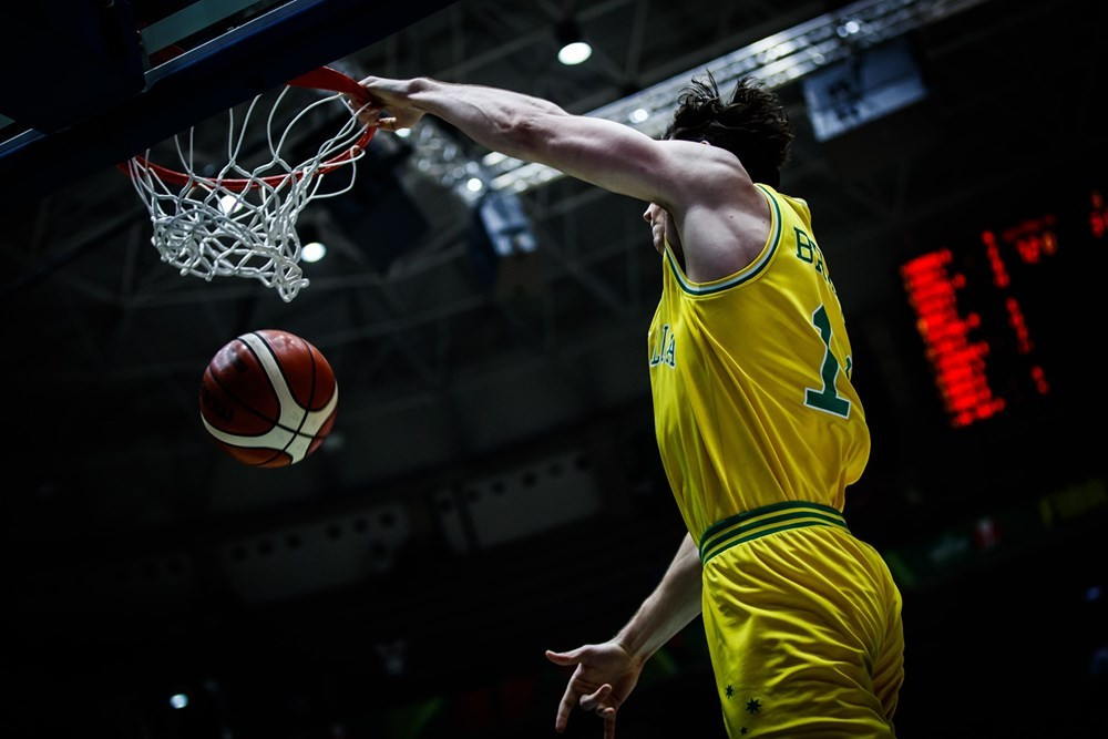 Debutants Australia picked up their second victory at the tournament ©FIBA