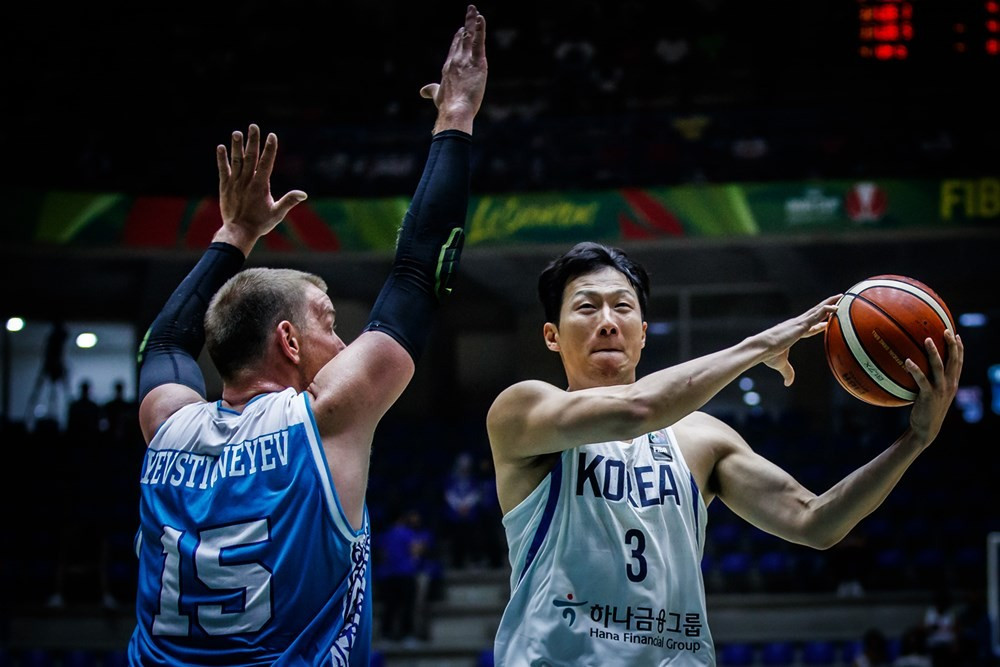 South Korea bounced back from a disappointing defeat against hosts Lebanon by defeating Kazakhstan 116-55 ©FIBA
