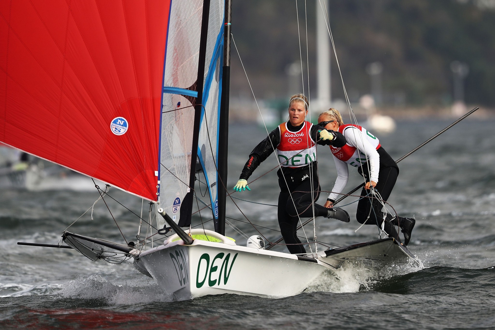 Danish duo continue to lead at home World Sailing Championships test event