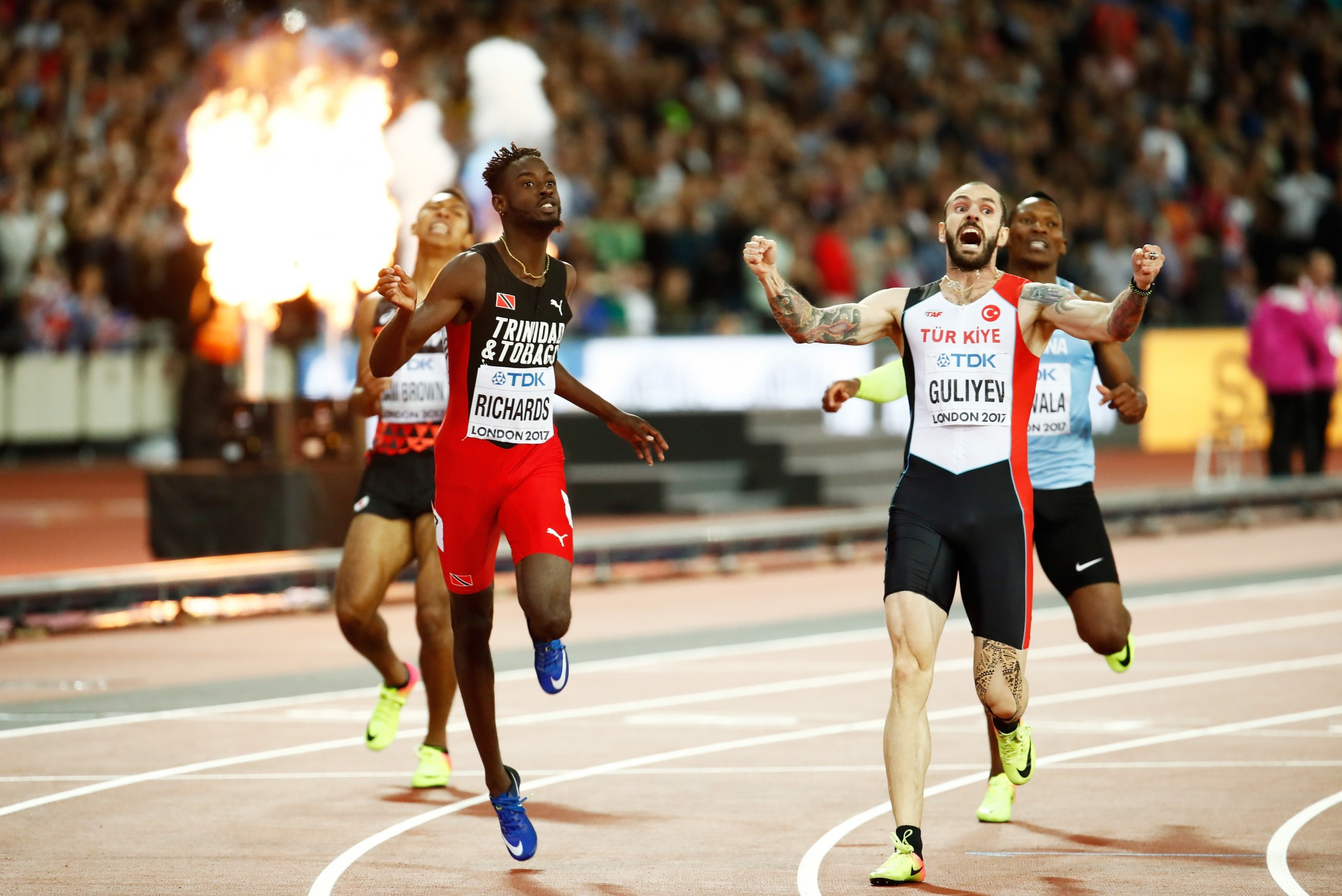 American double before Turkish delight at IAAF World Championships
