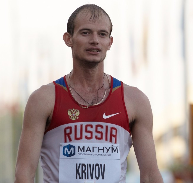 Andrei Krivov is set to be stripped of the 20 kilometres race walk gold medal he won at the 2011 Universiade in Shenzhen ©Getty Images