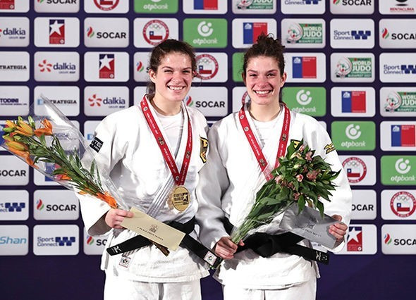 Twin sisters both claim medals at IJF Cadet World Championships