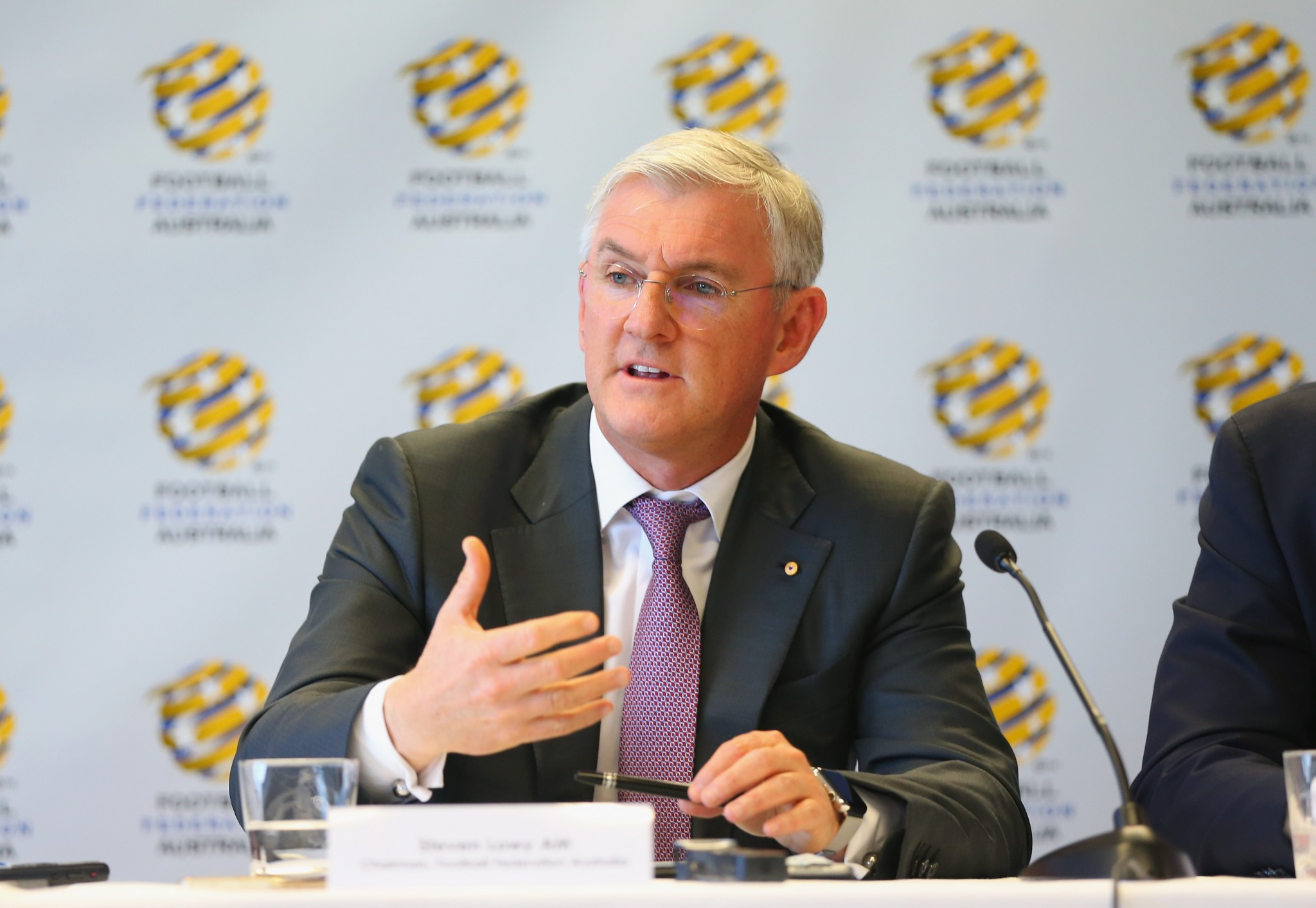 Football Federation Australia chairman claims progress made towards resolving row after FIFA and AFC visit