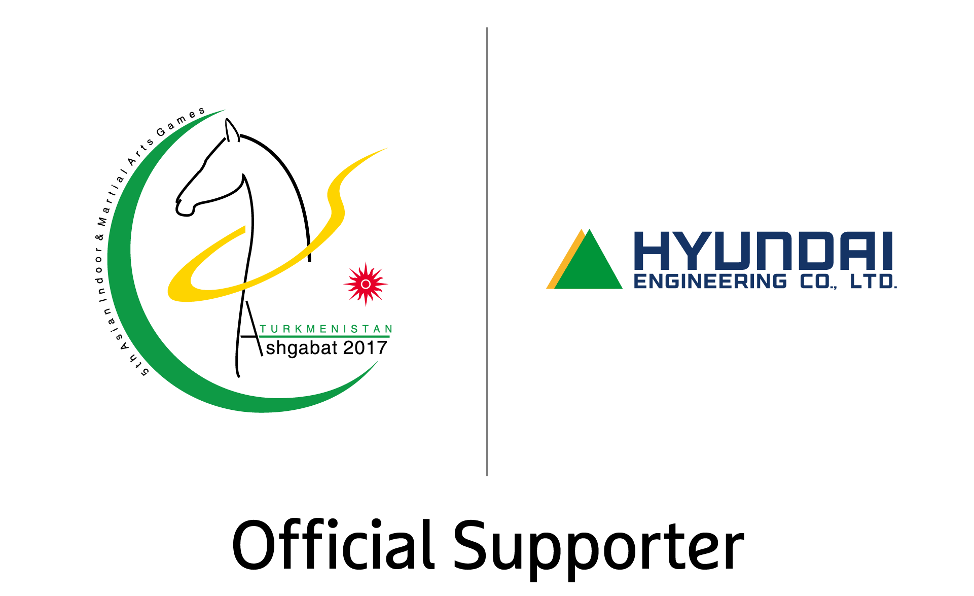 Hyundai Engineering named official supporter of Ashgabat 2017