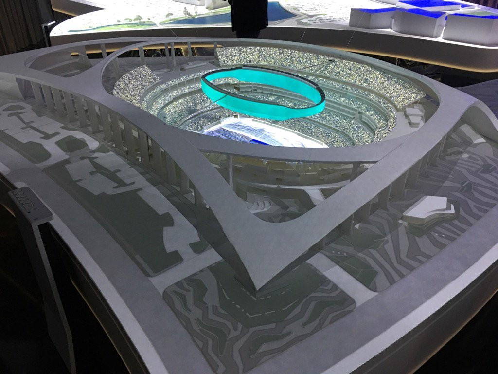 Model images released of proposed Los Angeles 2028 Opening Ceremony venue