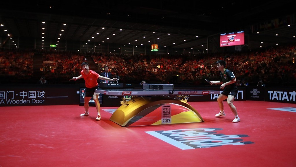 This year's individual World Championships took place in Düsseldorf in Germany ©ITTF