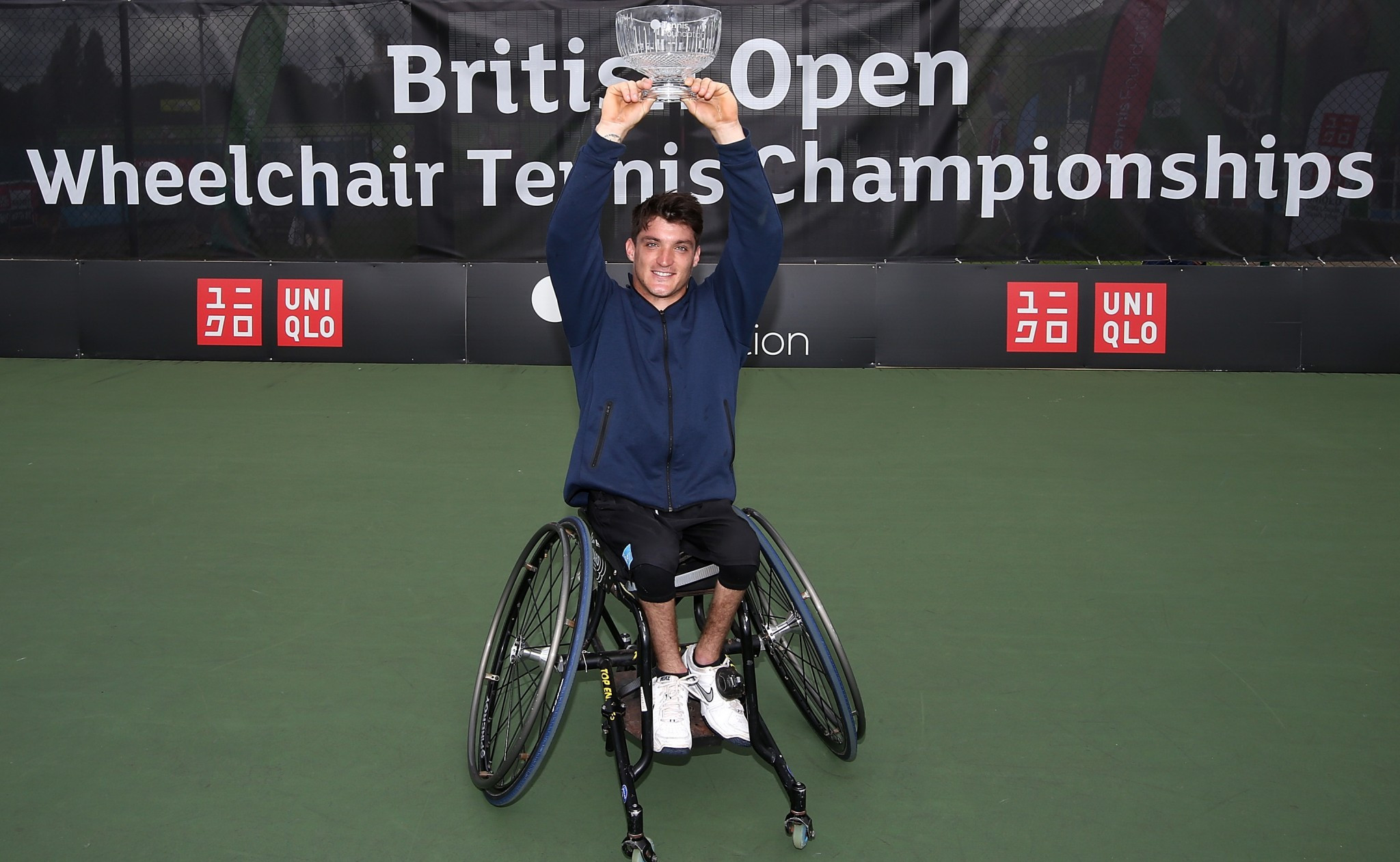 Gustavo Fernandez is top of the men's ITF wheelchair tennis rankings ©Getty Images