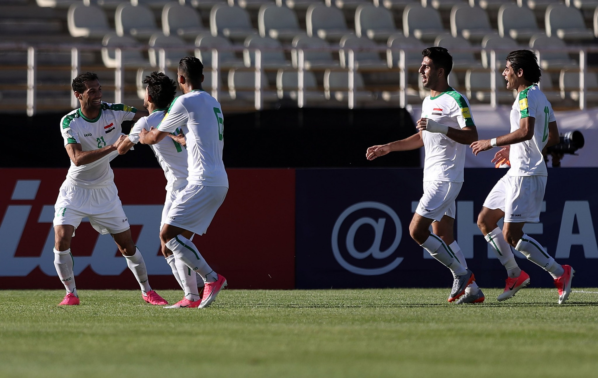 Iraq have played most of their home fixtures in Asian qualifying in Iran due to security concerns ©Getty Images
