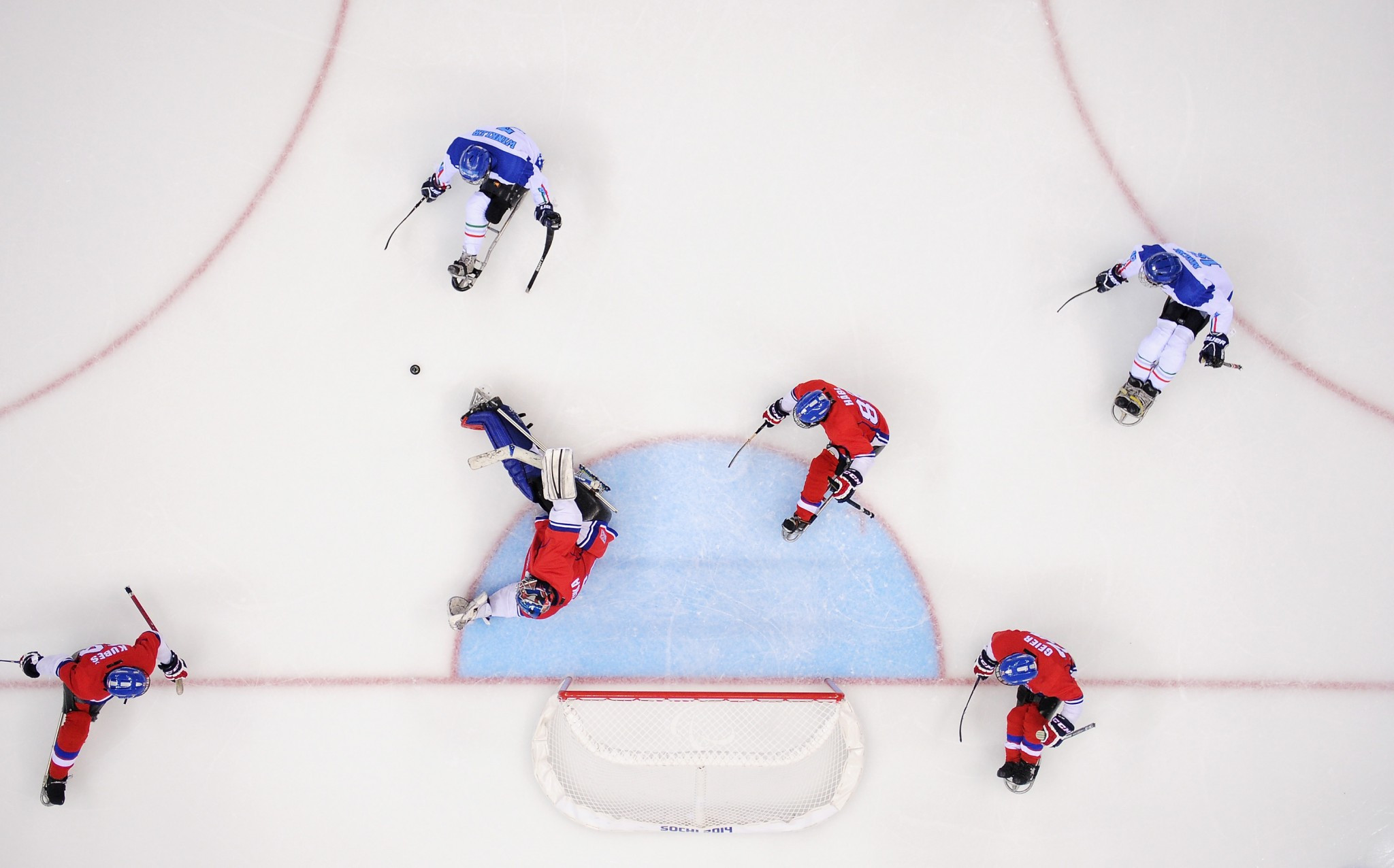 The APC hope the equipment will help Para ice hockey develop in a country not a traditional winter sport nation ©Getty Images