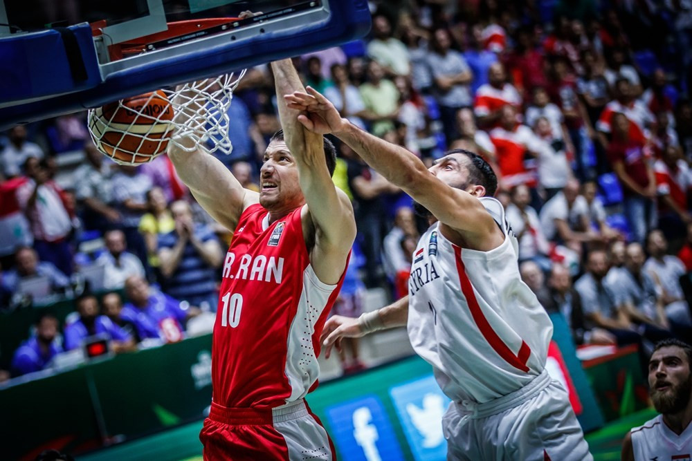 Iran and Jordan claim second victories at FIBA Asia Cup