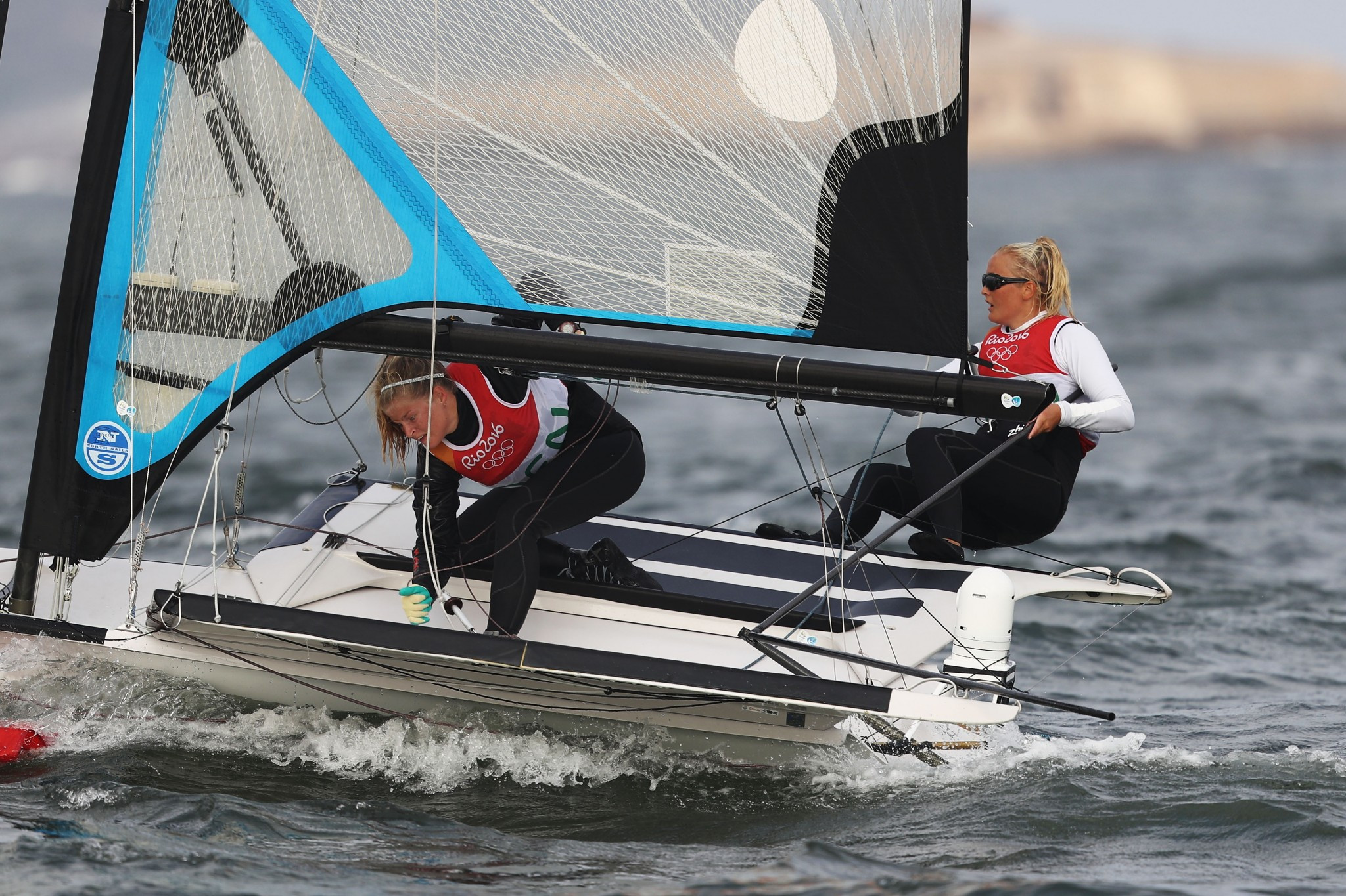 Jena Hansen and Katja Salskov-Iversen also won bronze at Rio 2016 ©Getty Images