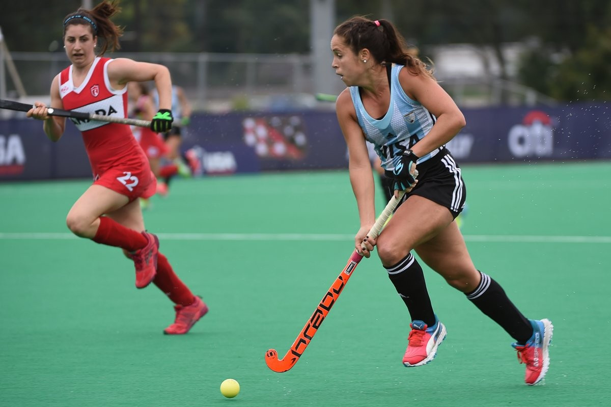Argentina beat Canada 4-1 to remain on course for a fifth-consecutive crown ©PAHF/Twitter