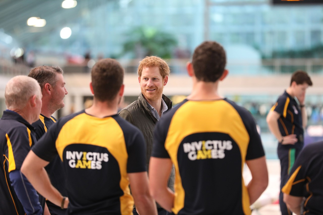 Prince Harry, creator of the Invictus Games, has praised the latest measures offering support to NHS workers ©Getty Images