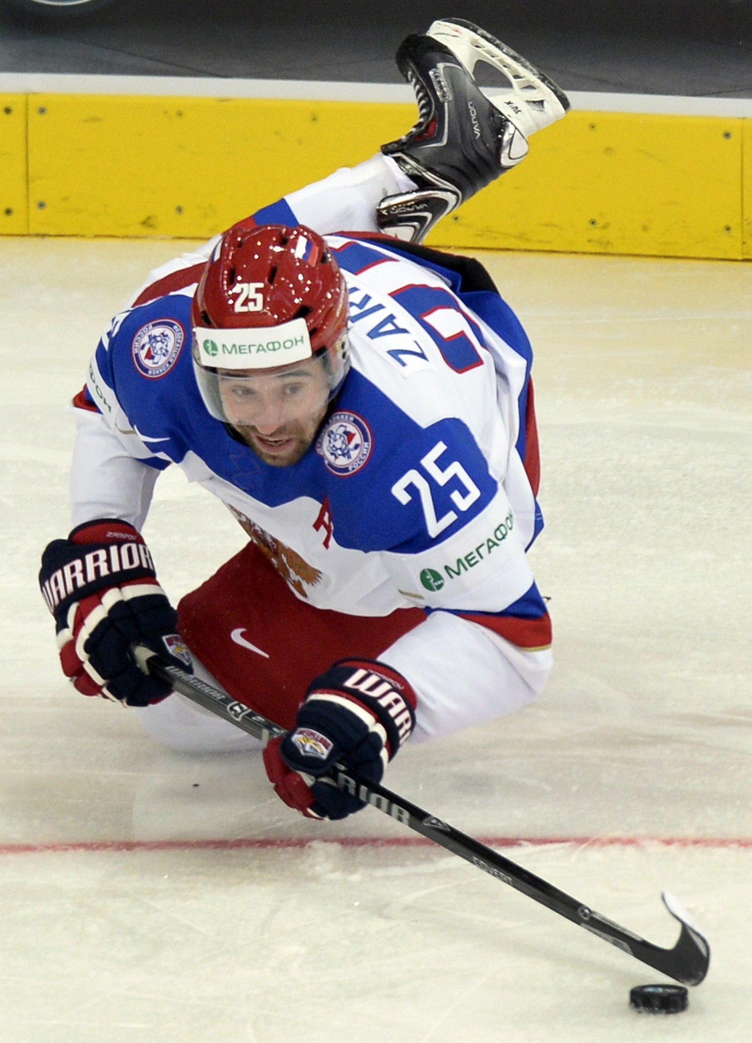 Danis Zaripov was given a two-year drugs ban by the IIHF last month ©Getty Images
