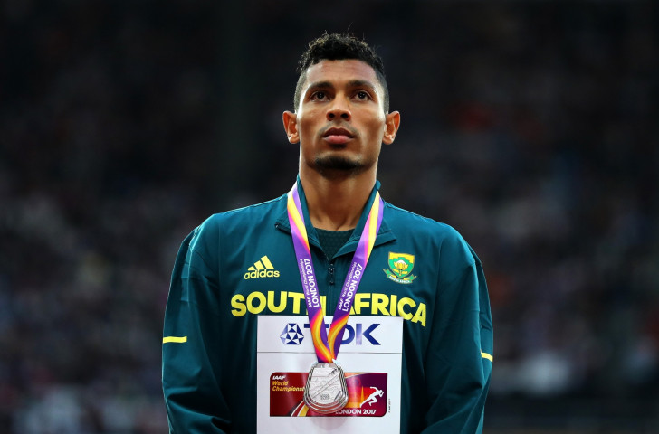 South Africa's Wayde van Niekerk, pictured with the 200 metres silver medal he added to his 400m gold at this week's World Championships in London, is one of many athletes who has previously starred at the Universiade ©Getty Images