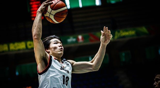 Japan beat Hong Kong 92-59 today ©FIBA