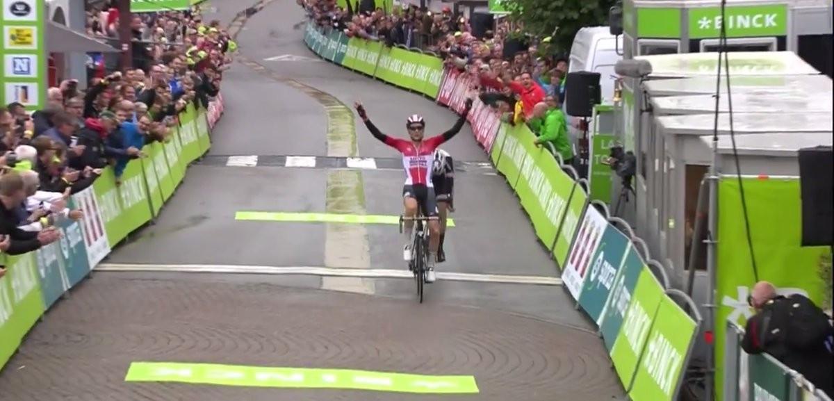 Tim Wellens won stage six of the BinckBank Tour ©Twitter/BinckBankTour