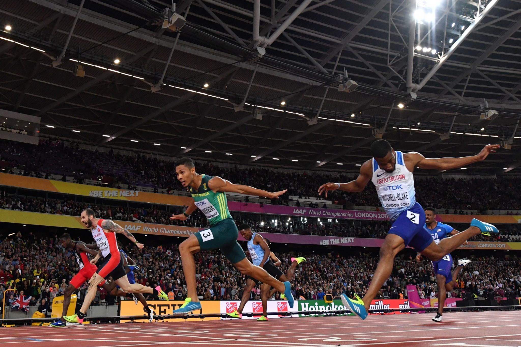 Wayde van Niekerk has been tasked with following in the footsteps of Usain Bolt ©Getty Images