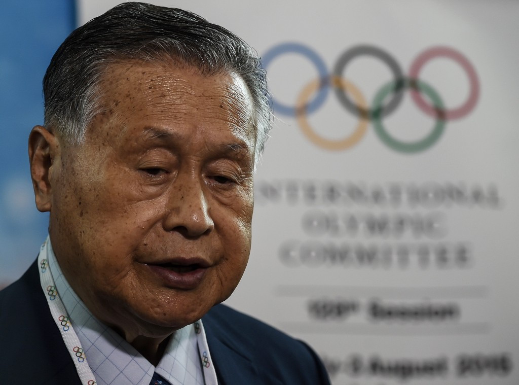 Tokyo 2020 President Yoshirō Mori updated the IOC Executive Board on the Japanese capital's preparations ©Getty Images