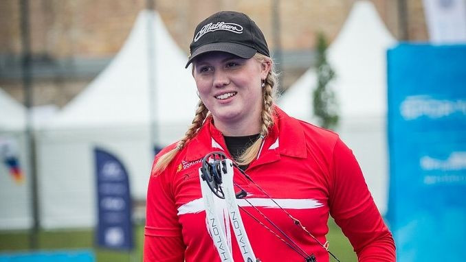 Sonnichsen to return to world number one following Archery World Cup success