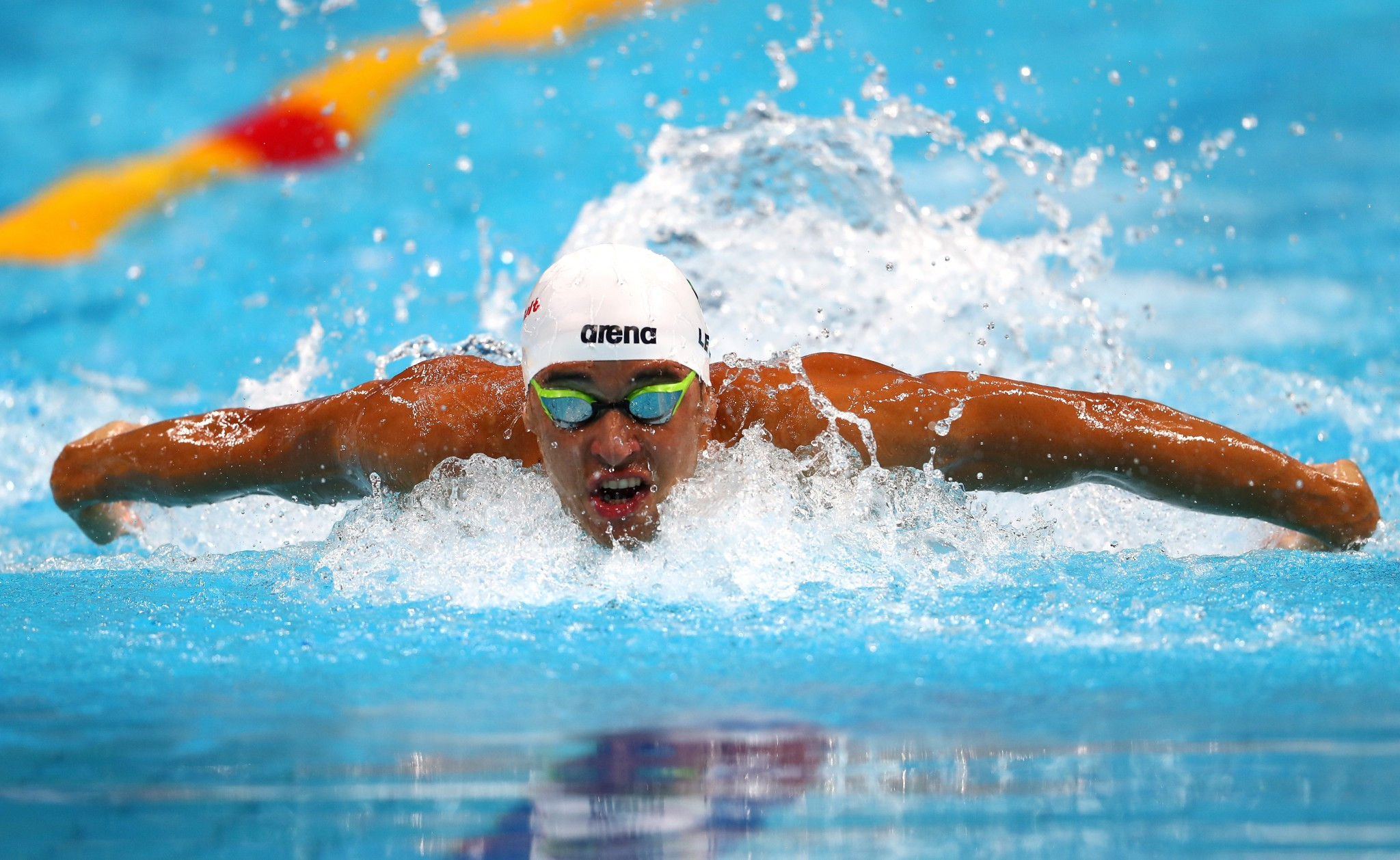 South Africa's Chad le Clos won two events today, including the men's 100m butterfly ©Getty Images