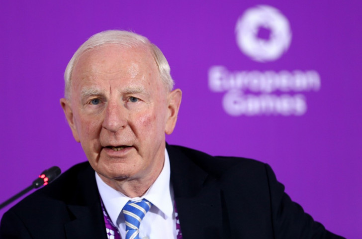 Patrick Hickey has fiercely criticised the European Union and Western Europe for their stance on continental sporting events ©Getty Images