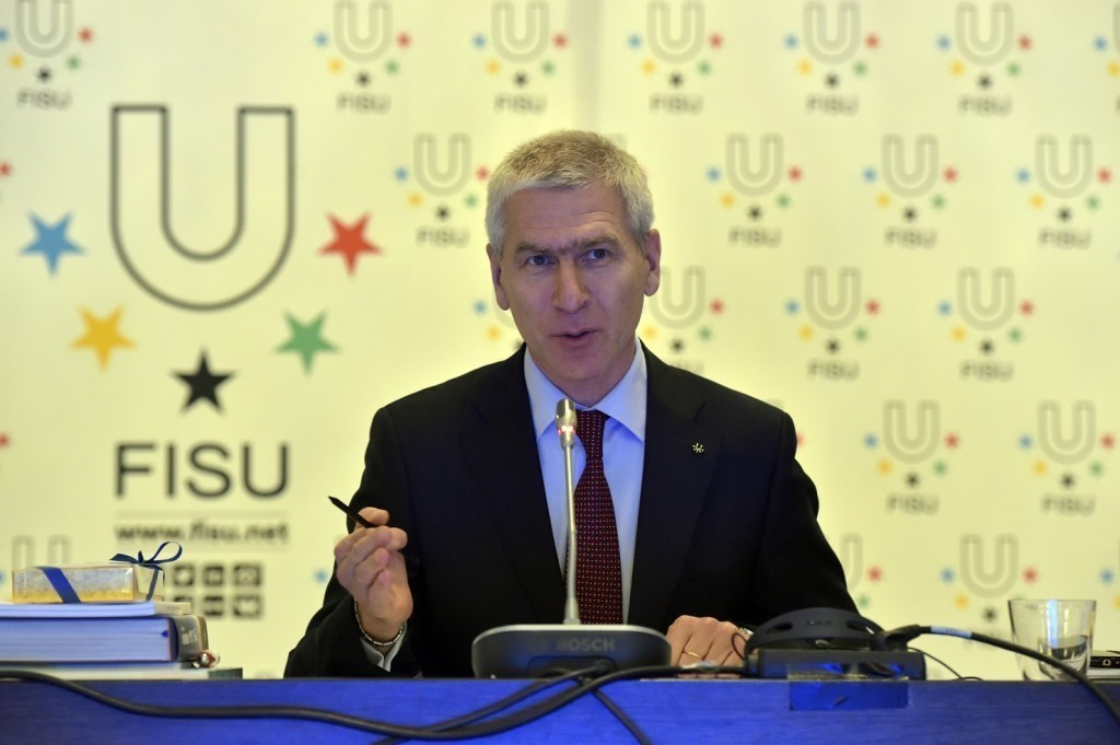 Oleg Matytsin has reportedly claimed FISU will assess Ukraine's absence after the Winter Universiade ©FISU