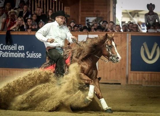 Bernard Fonck made history with gold for Belgium ©FEI