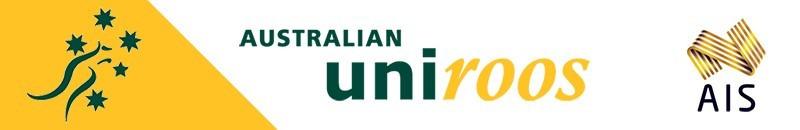Australia has announced its squad for Taipei 2017 ©Uniroos