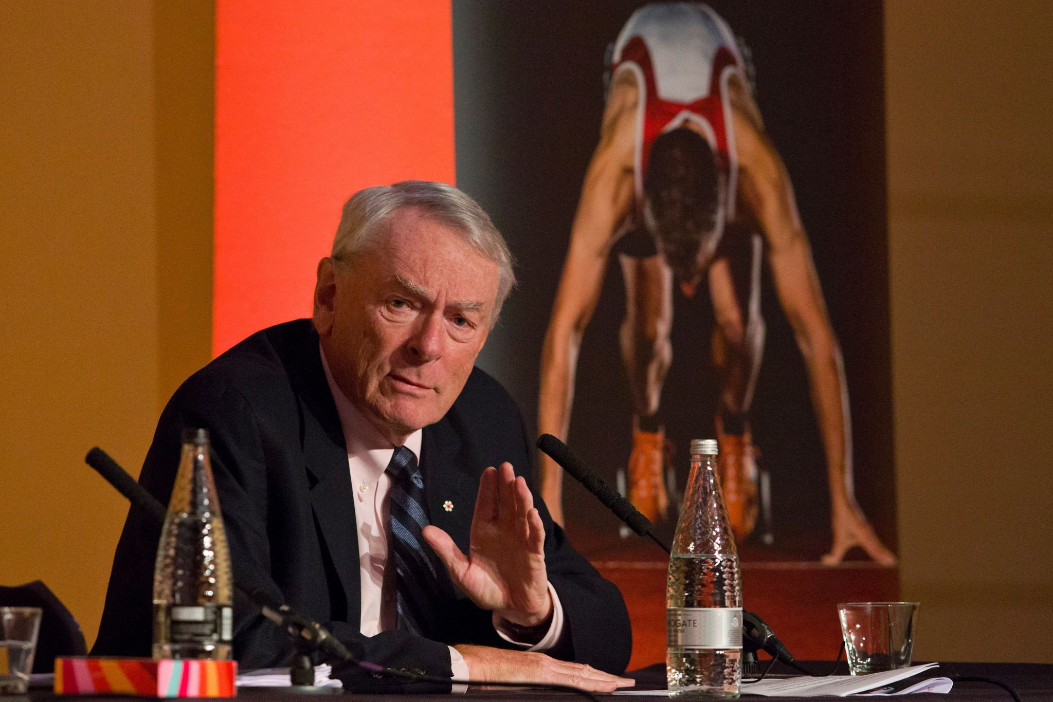Richard Pound thinks a fine would be a dangerous move by the IOC ©Getty Images