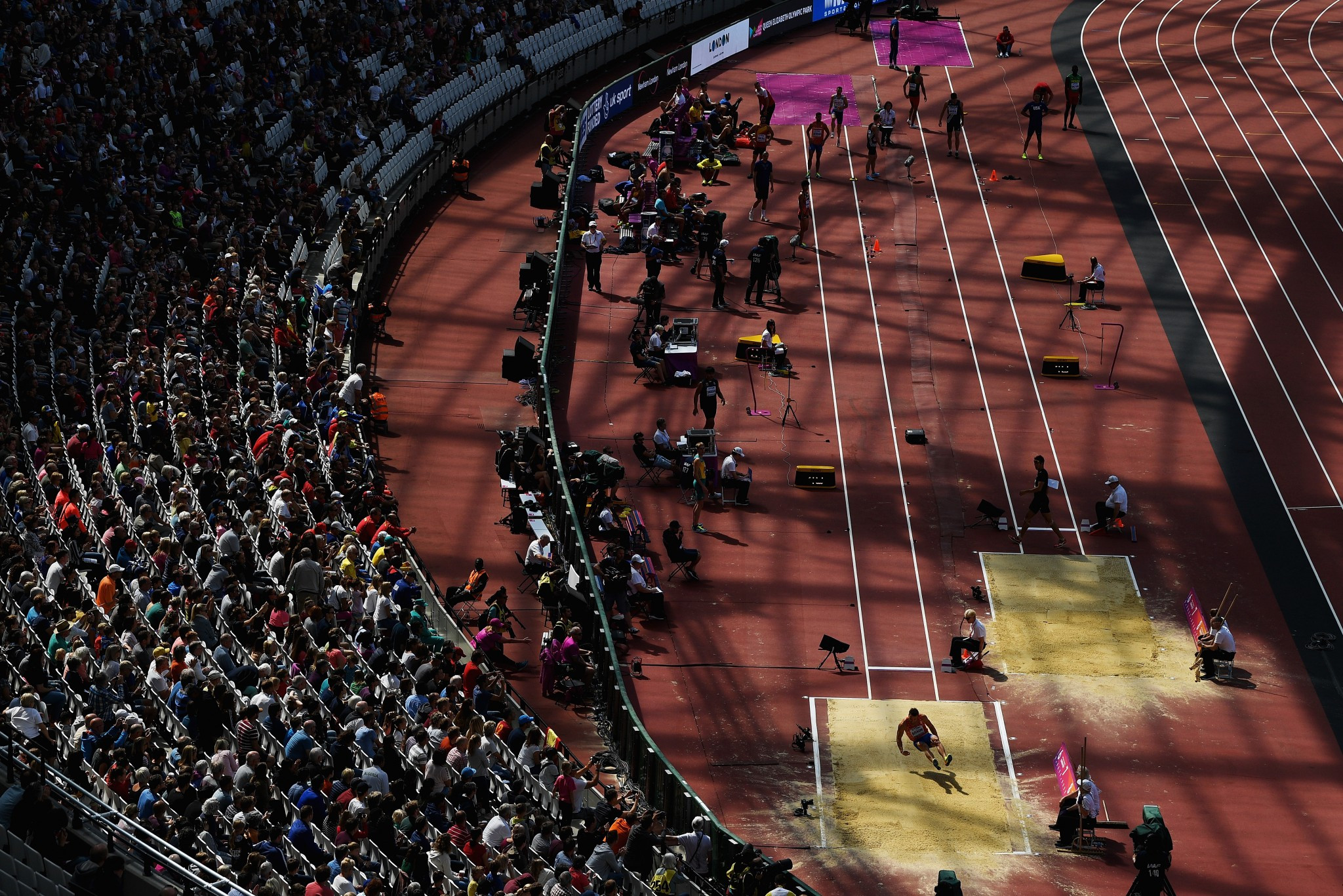 Ed Warner believes the Olympic Stadium would be a perfect venue for the Commonwealth Games ©Getty Images