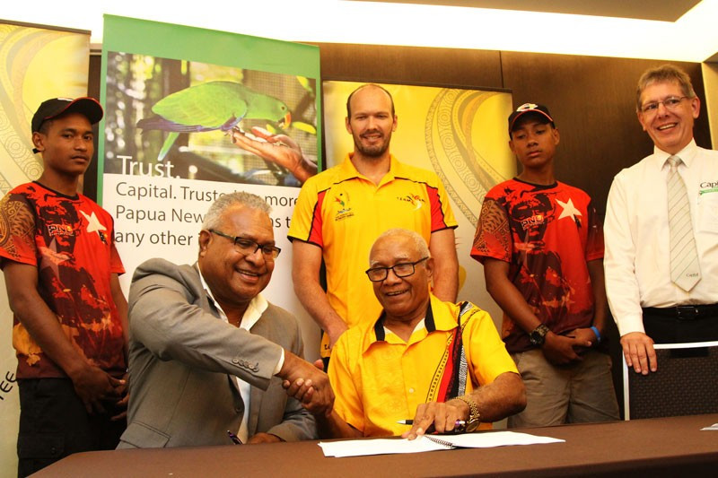 Papua New Guinea Olympic Committee sign deal with Capital Insurance Group