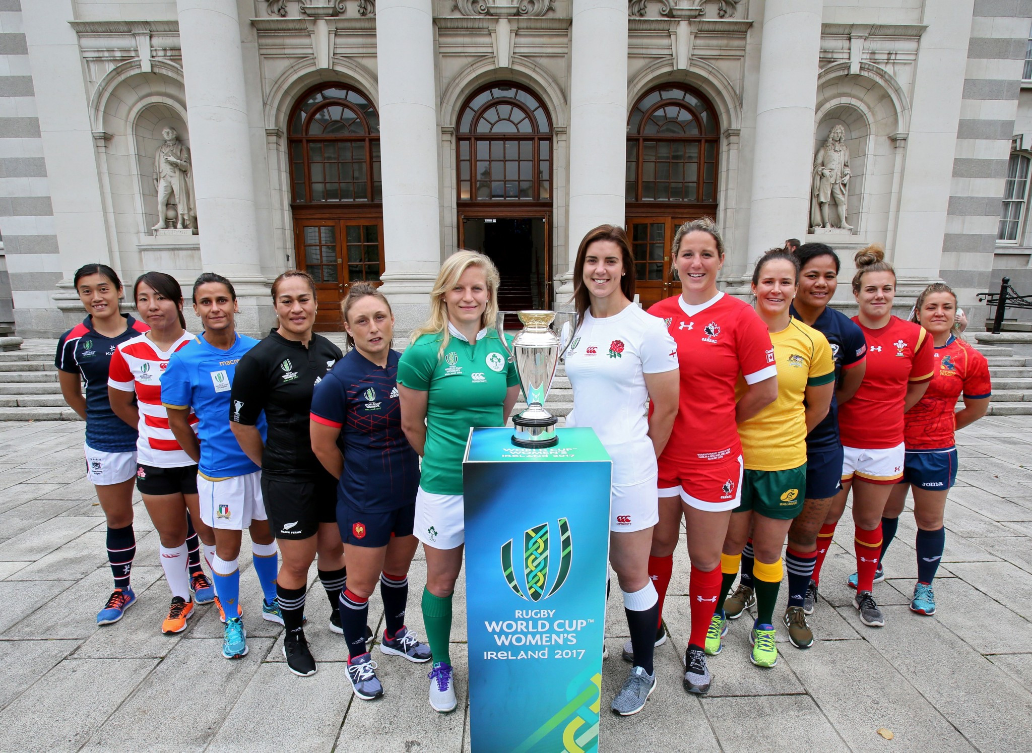 Leadership forum being held in Belfast to coincide with Women's Rugby World Cup