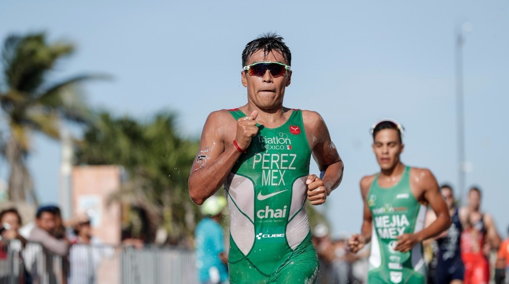 Perez delights home crowd by winning ITU World Cup in Yucatán