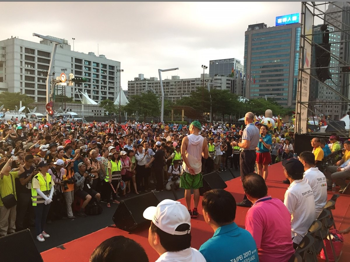 Taipei 2017 hold carnival to welcome Summer Universiade athletes