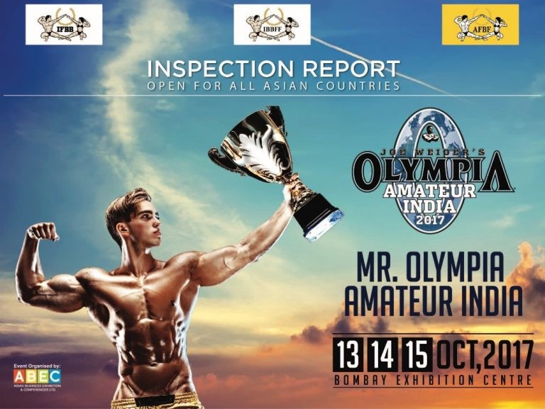 India to host first Olympia Amateur event in October