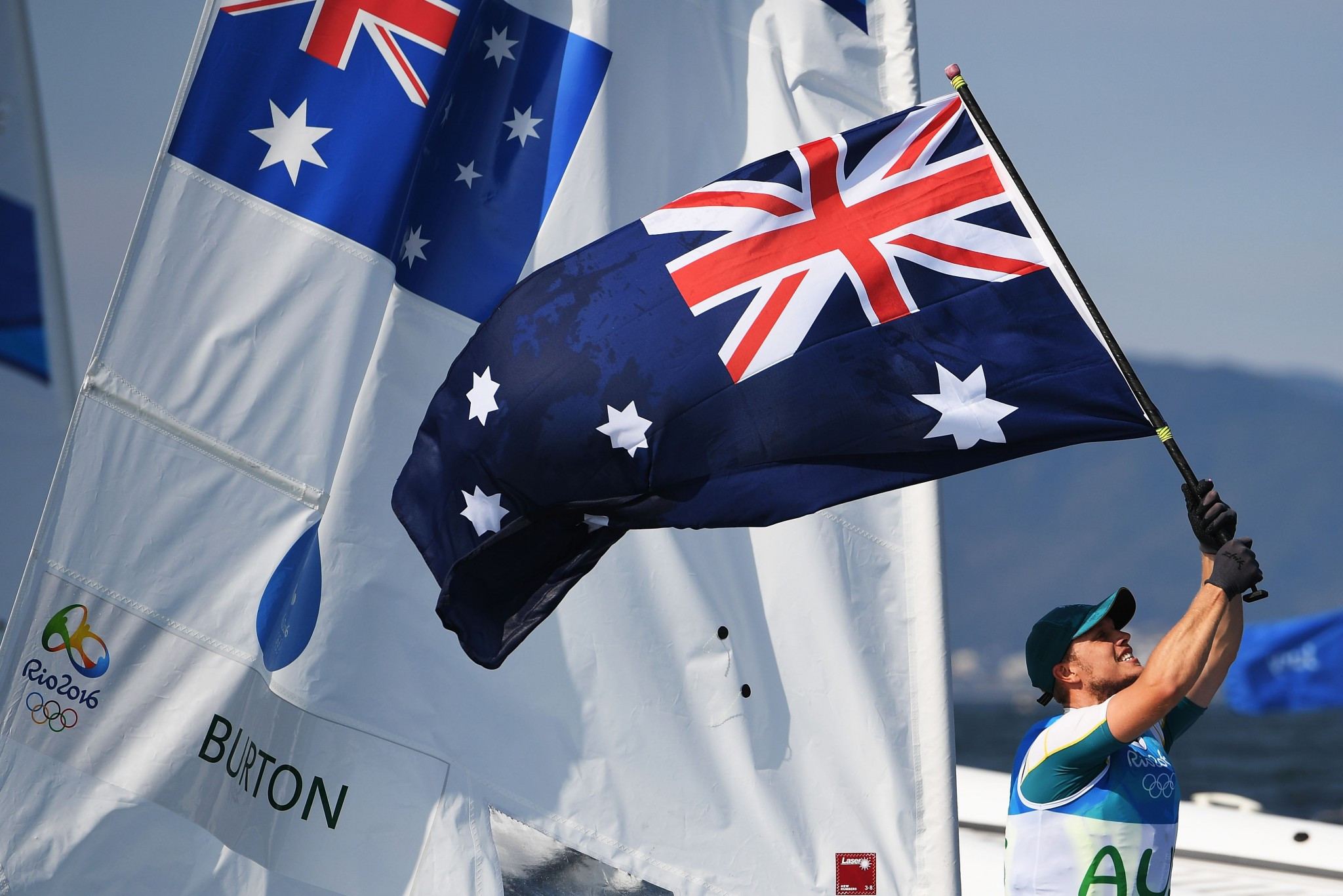 Australia claim laser one-two on final day of World Sailing Championships test event