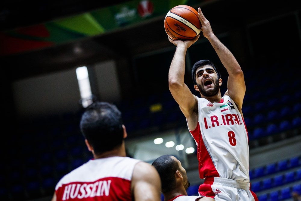 Iran book place in quarter-finals with victory over Jordan at FIBA Asia Cup