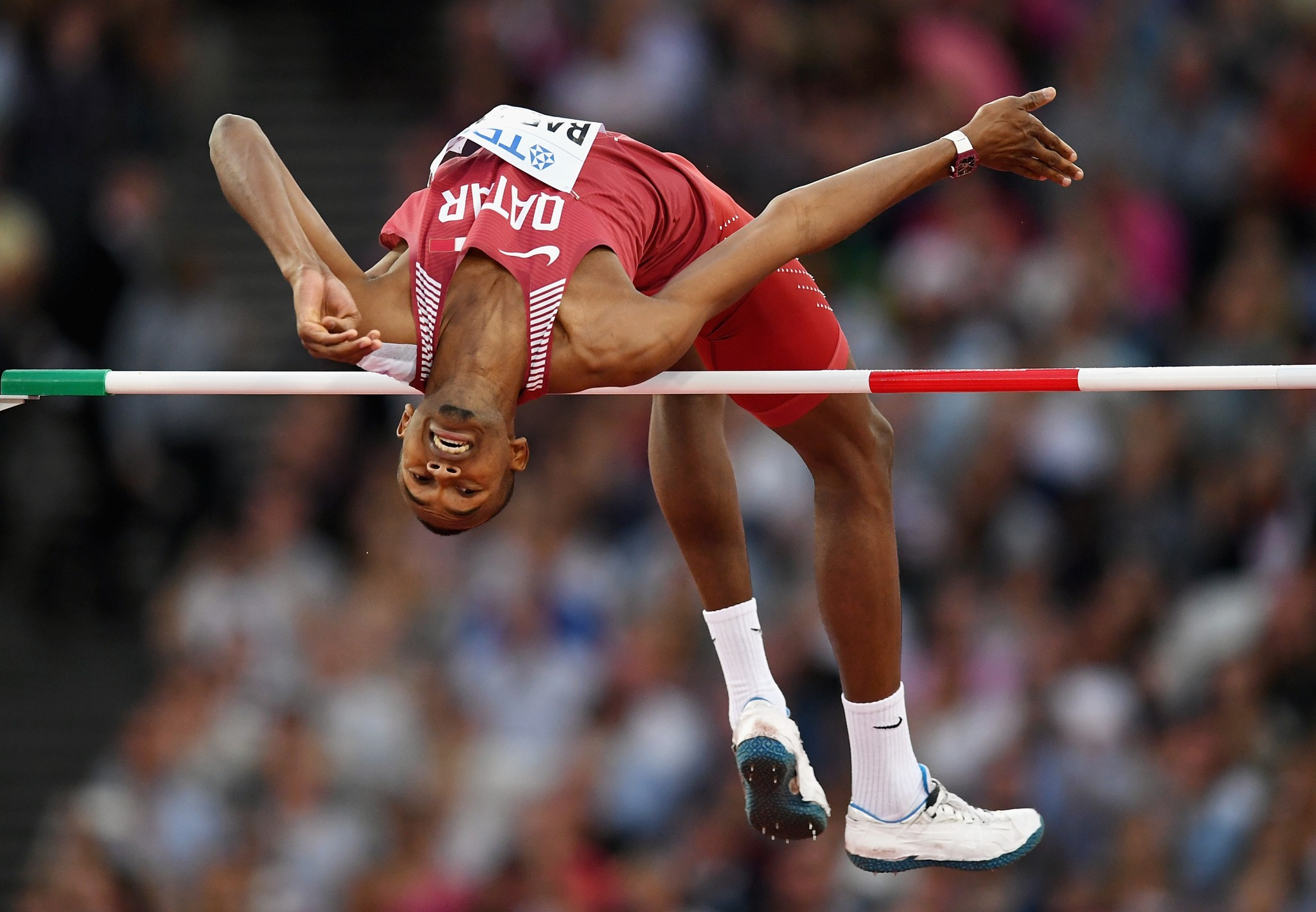Mutaz Essa Barshim claimed Qatar's first World Championships on the final day of competition ©Getty Images