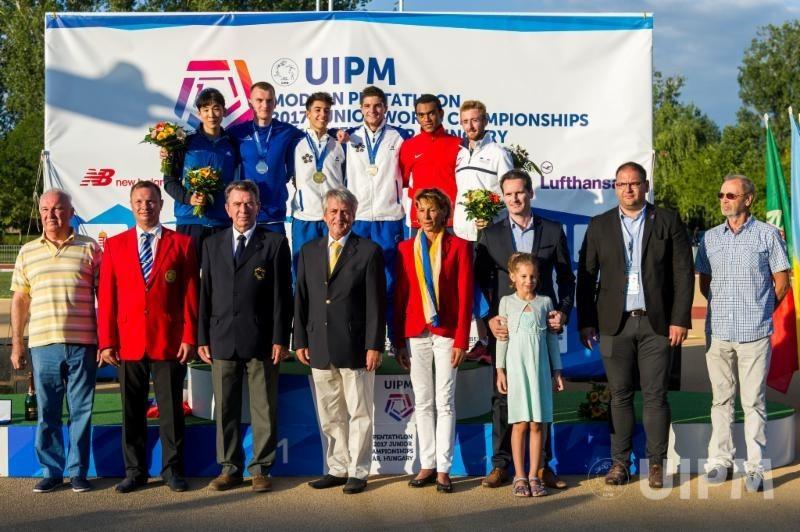 Italy's Daniele Colasanti secured a surprise gold medal as he won the men's event in Székesfehérvár ©UIPM