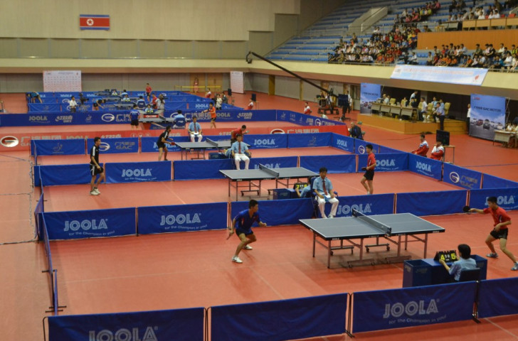 The Pyongyang Open is the 13th stop on the GAC Group 2015 World Tour