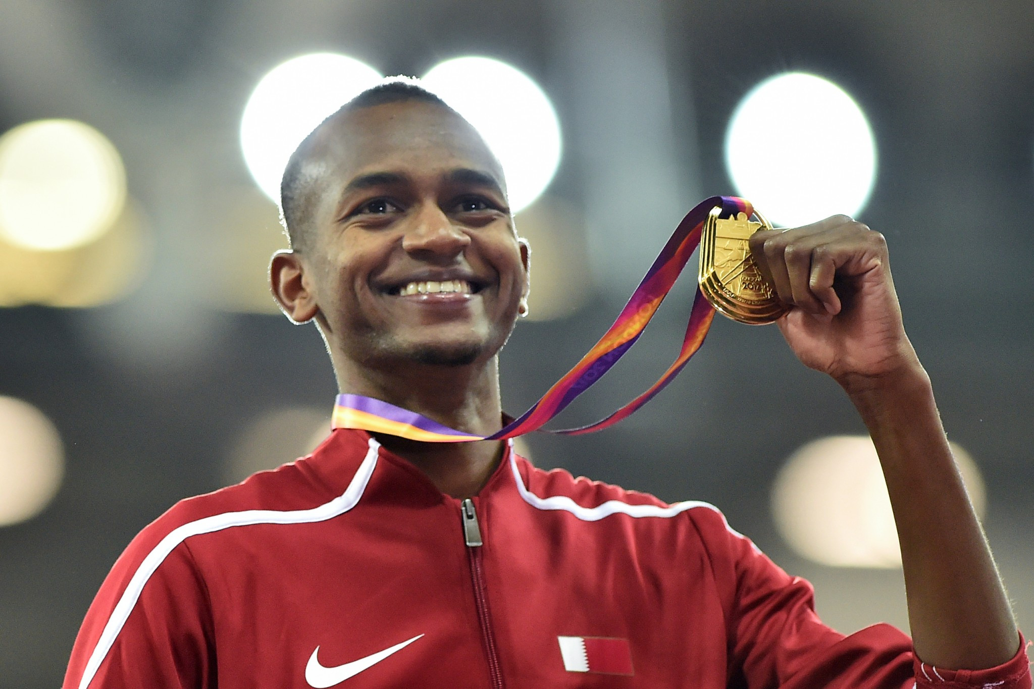 Mutaz Essa Barshim claimed Qatari high jump gold today and is set to be the star of Doha 2019 ©Getty Images