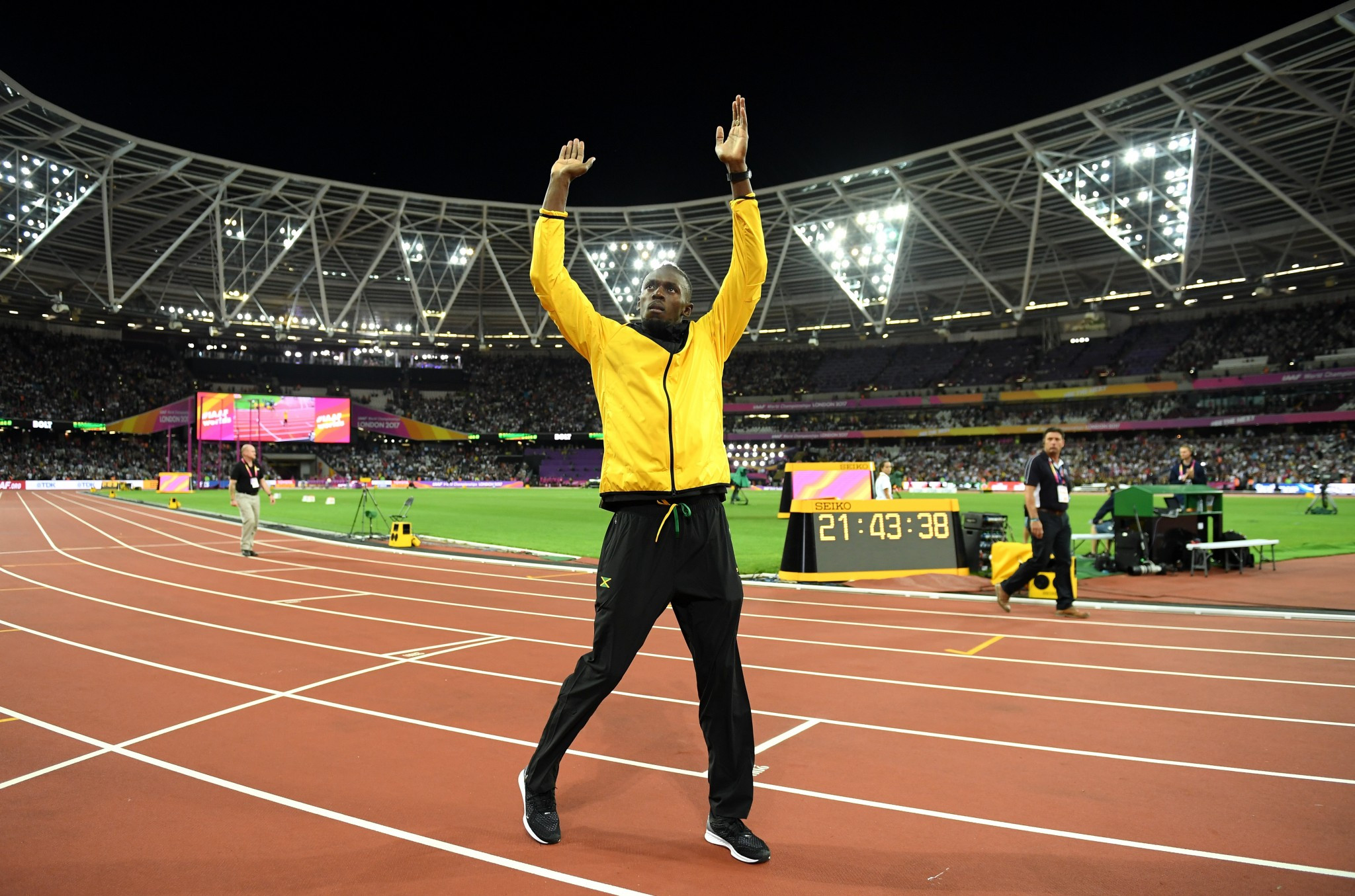 Bolt insists he has no regrets on holding off retirement until IAAF World Championships