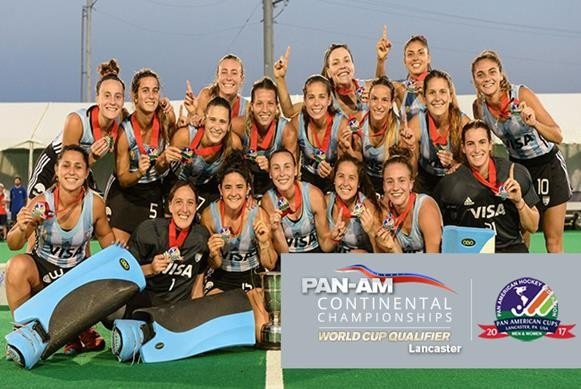 Argentina win Pan American title to send Italy to Women's Hockey World Cup