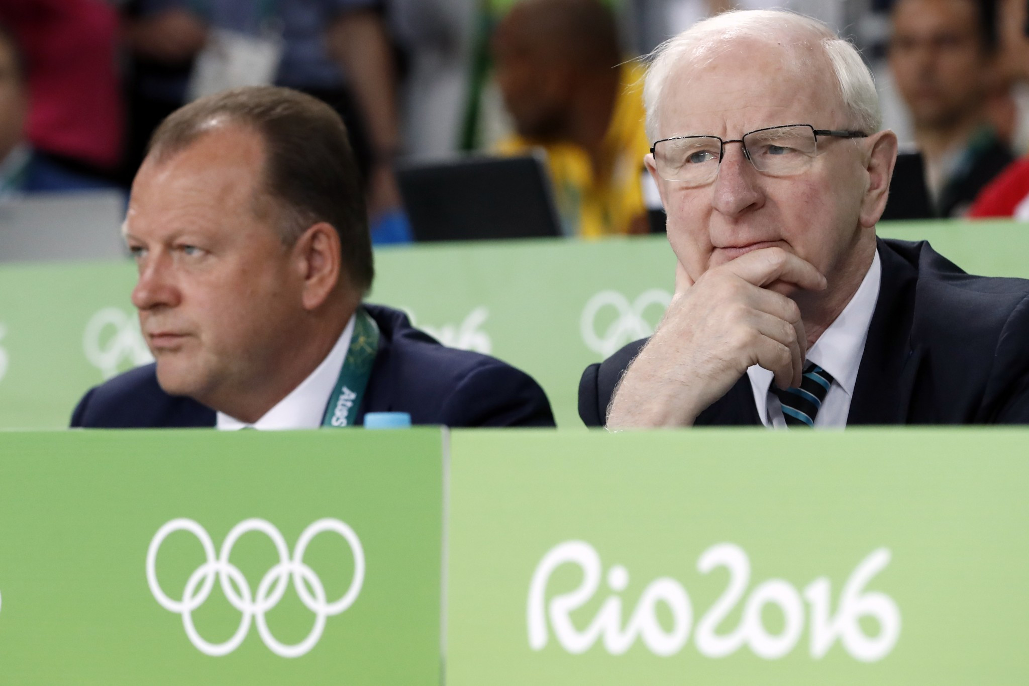 Patrick Hickey was arrested during the Rio 2016 Olympic Games ©Getty Images