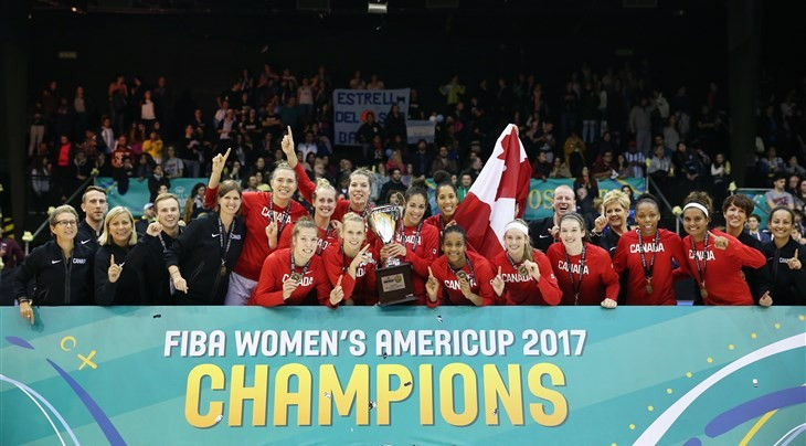 Canada net second successive Women's AmeriCup basketball crown